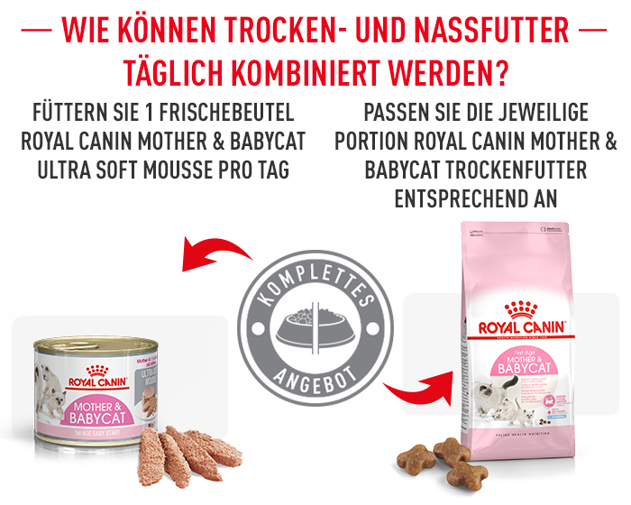 Mischfütterung Royal Canin Mother Babycat