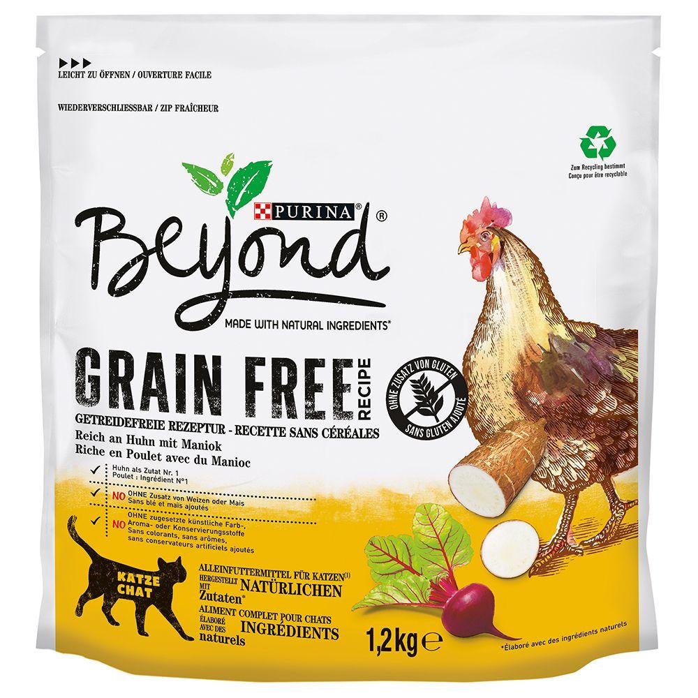 Purina Beyond Grain Free Chicken - Ekonomipack: 4 x 1,2 kg