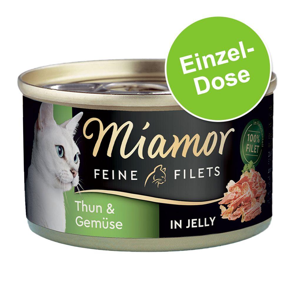 Miamor Fine Filets 1 x 100 g - Ljus tonfisk & räkor i gelé
