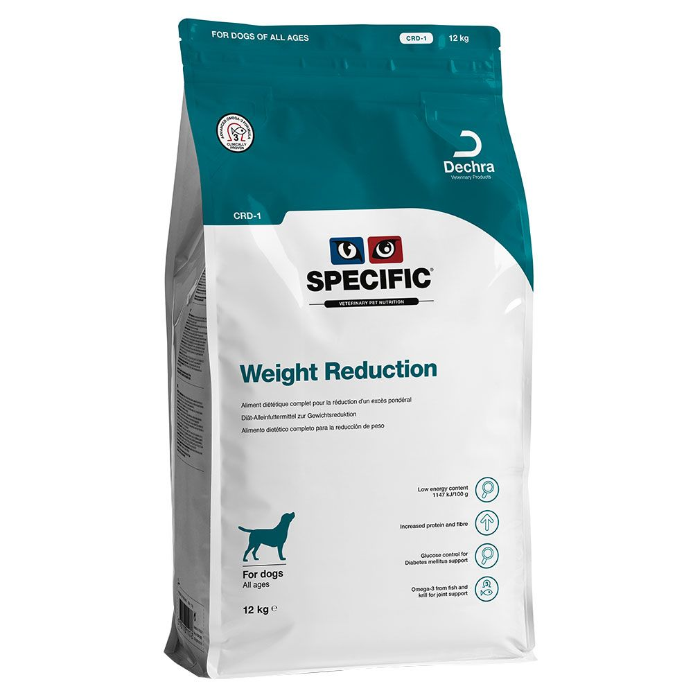 Specific Dog CRD-1 - Weight Reduction - säästöpakkaus: 2 x 12 kg