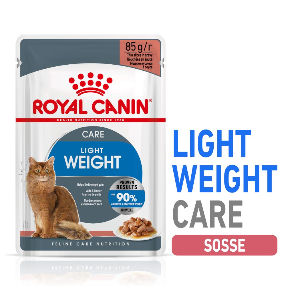 Royal Canin Ultra Light i sås 48 x 85 g