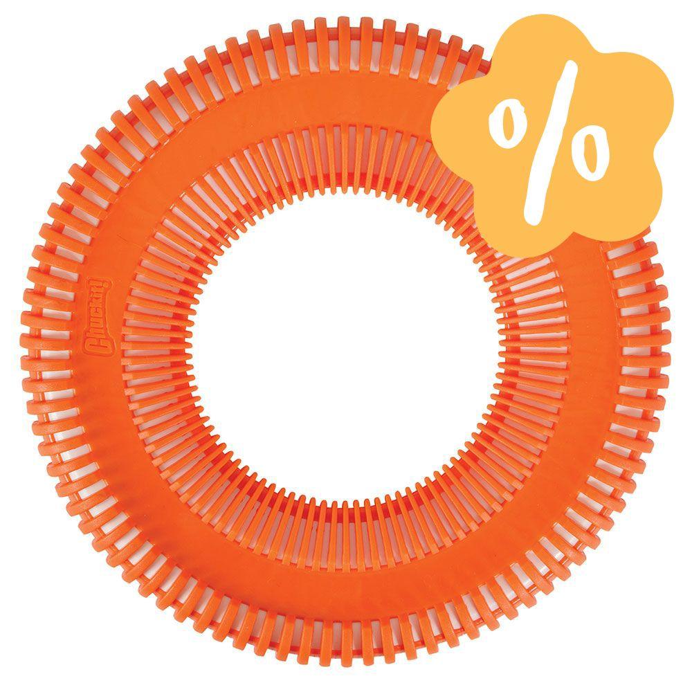 Image of Prezzo speciale! Chuckit! Rugged Flyer Arancione - L - Ø 25 cm