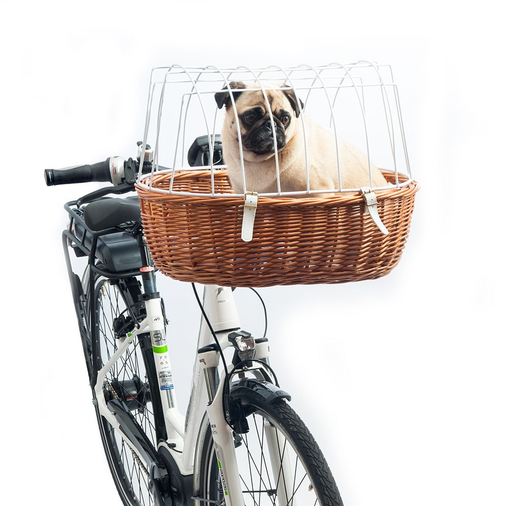 Aumuller Bike Basket with Protective Wire + Rain Cover Free!