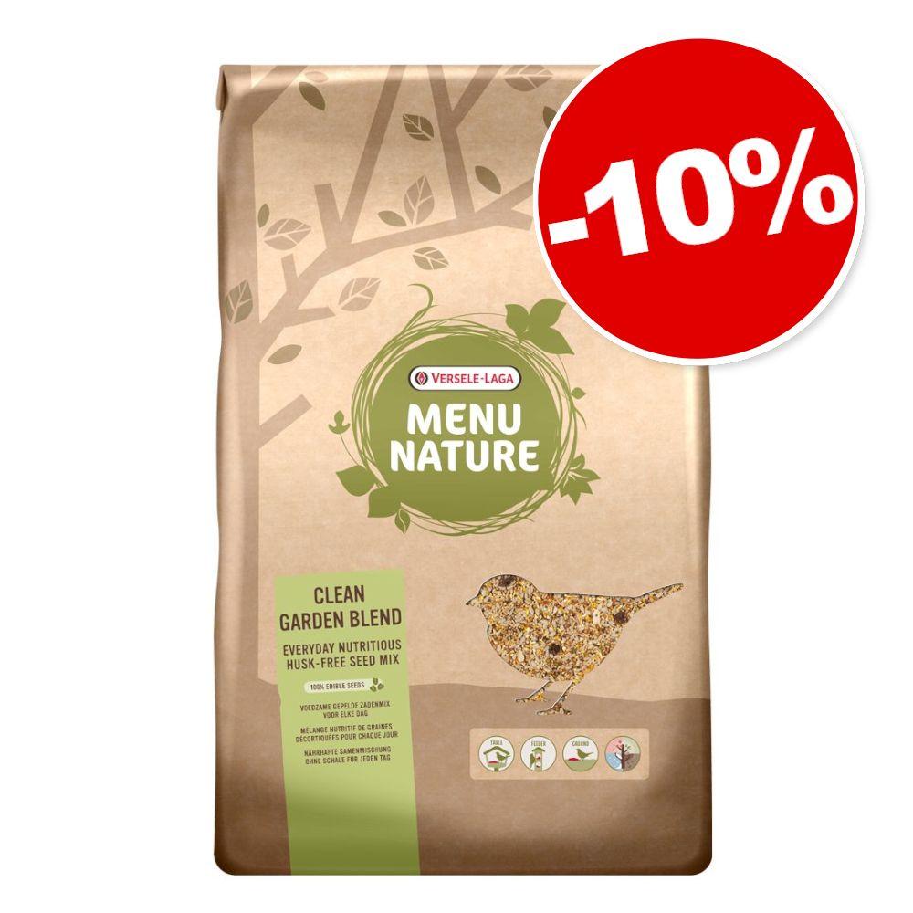 10kg Menu Nature Clean Garden Versele-Laga nourriture pour oiseaux sauvages