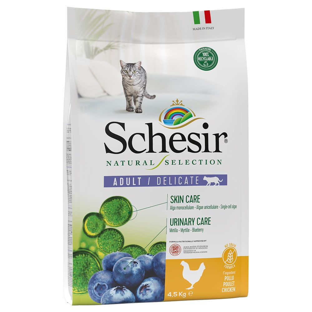 Schesir Natural Selection Adult med kyckling - 4,5 kg