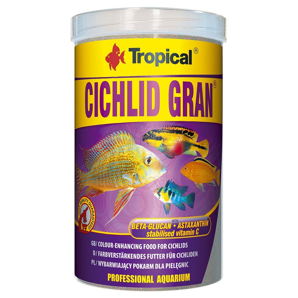 1L Tropical Cichlid Gran - Nourriture pour poisson