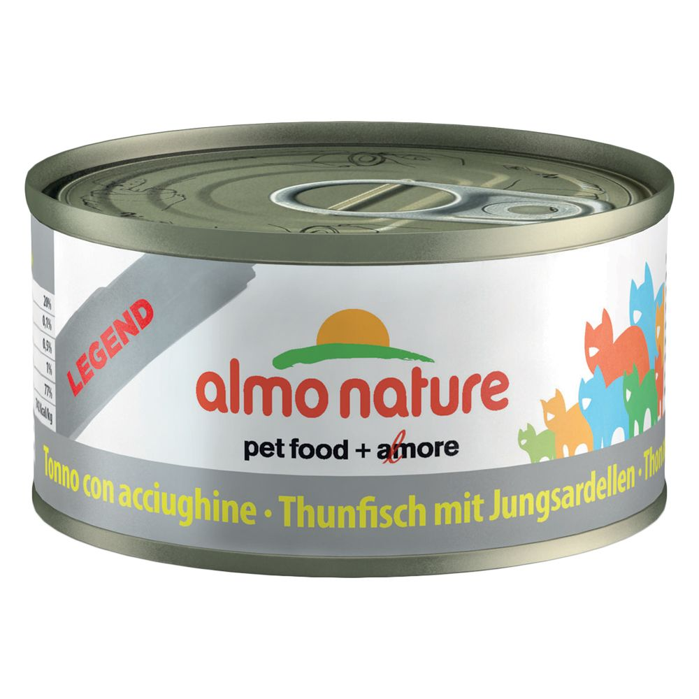 Image of Almo Nature Legend 6 x 70 g - Tonno con Vongole