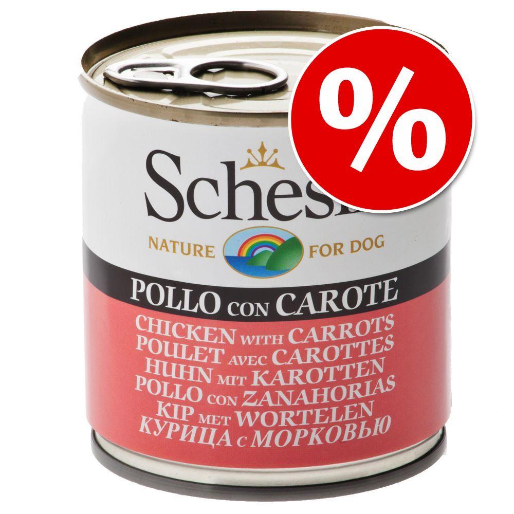 Foto Schesir in Gelatina 24 x 285 g - Pollo con Piselli Schesir Lattina 285 g