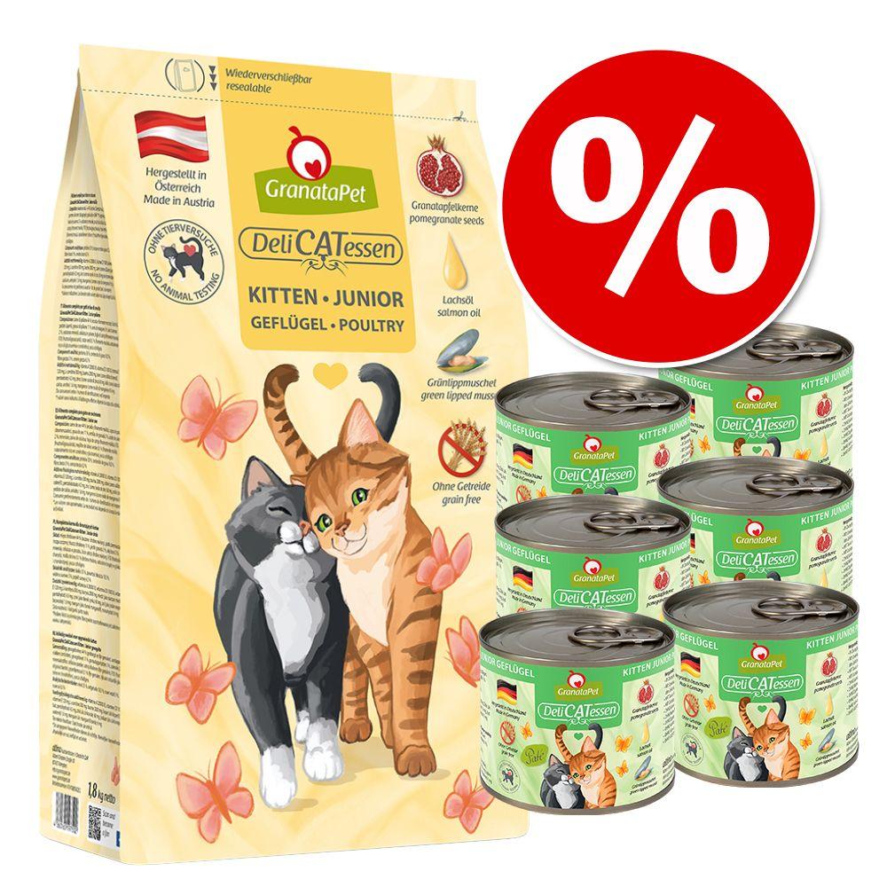 GranataPet Kittenpaket - Geflügel