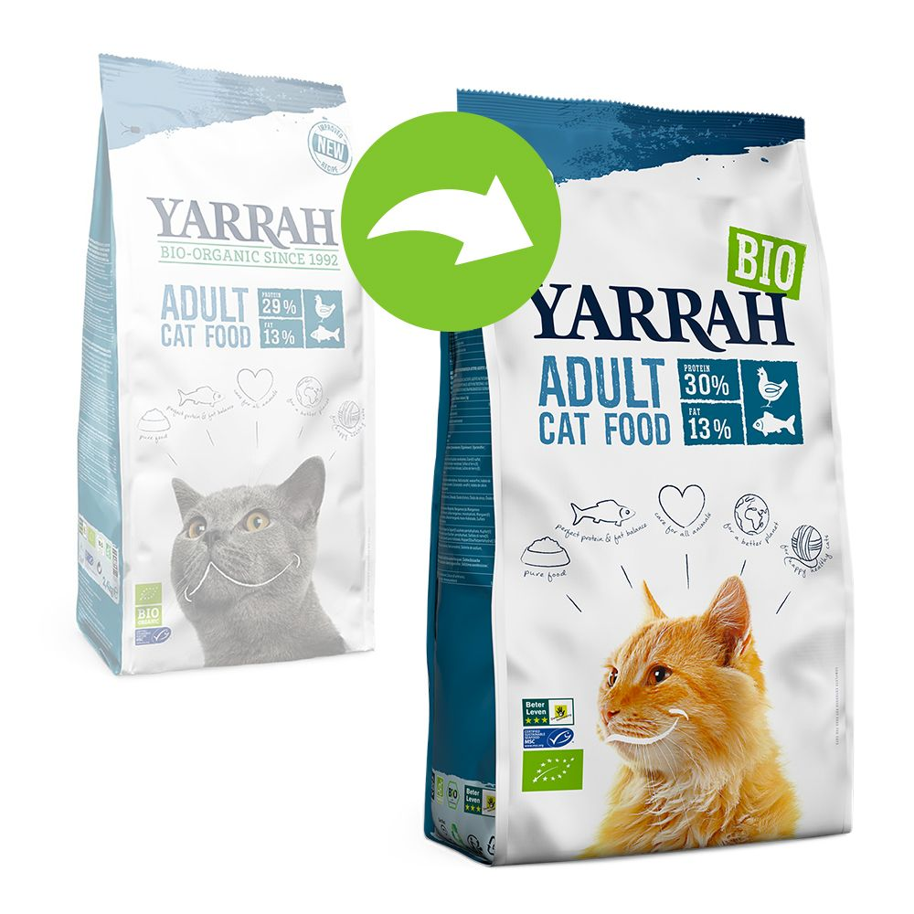 Yarrah Organic med ekologisk kyckling & fisk - 10 kg