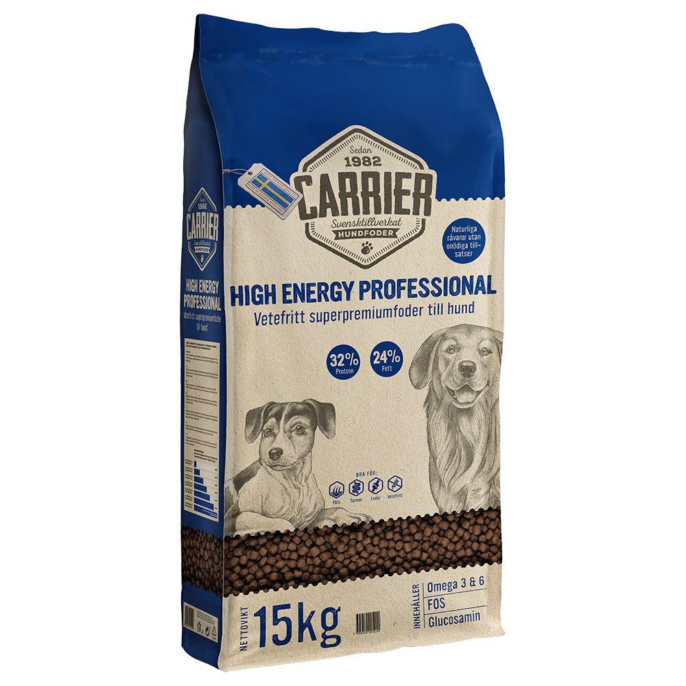 2x15kg High Energy Professional 32/24 Carrier hundefoder