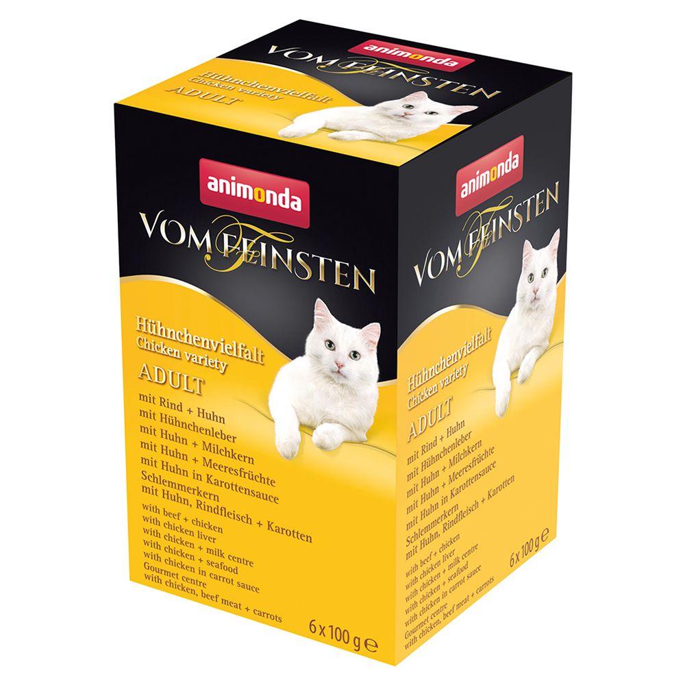 Animonda vom Feinsten Adult Mixpaket 6 x 100 g - Kalkonvarianter (6 sorter)