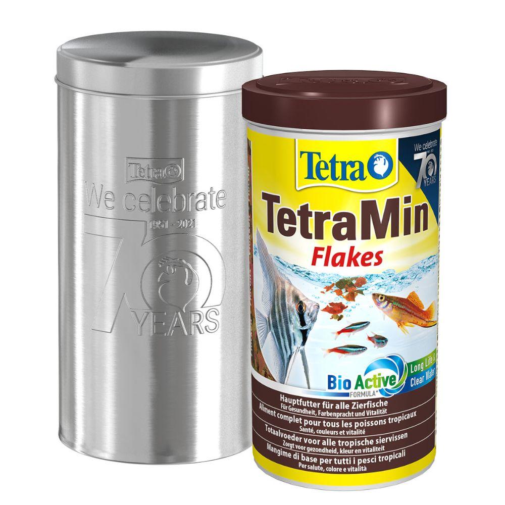 1000mL Tetra TetraMin (gros flocons) - Nourriture pour poisson