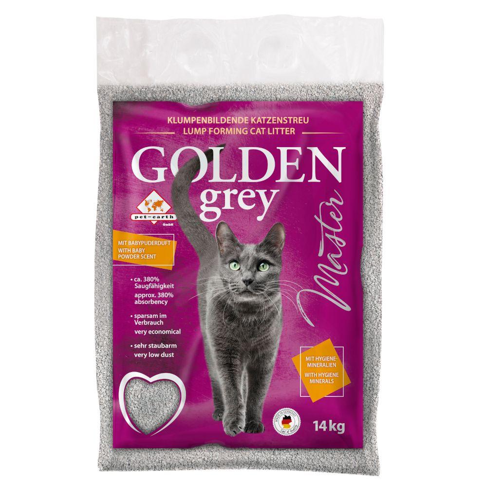Golden Grey Master Katzenstreu - 14 kg