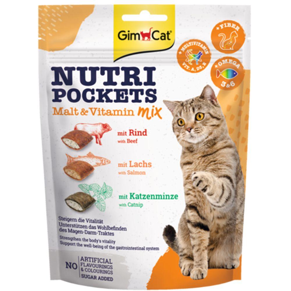 GimCat Nutri Pockets - Sea Mix 150 g