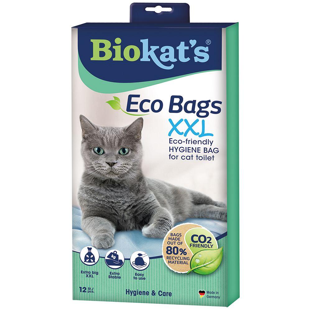 Image of Biokat's Sacchetti per toilette Eco Bags XXL - 12 pz