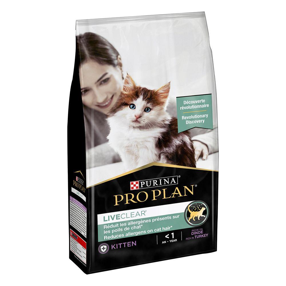 Pro Plan LiveClear Kitten Turkey - 1,4 kg