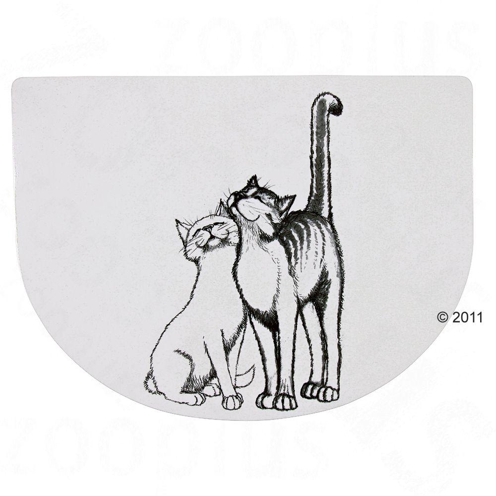 Podkładka pod miskę dla kota Trixie - Dł. x szer.: 40 x 30 cm