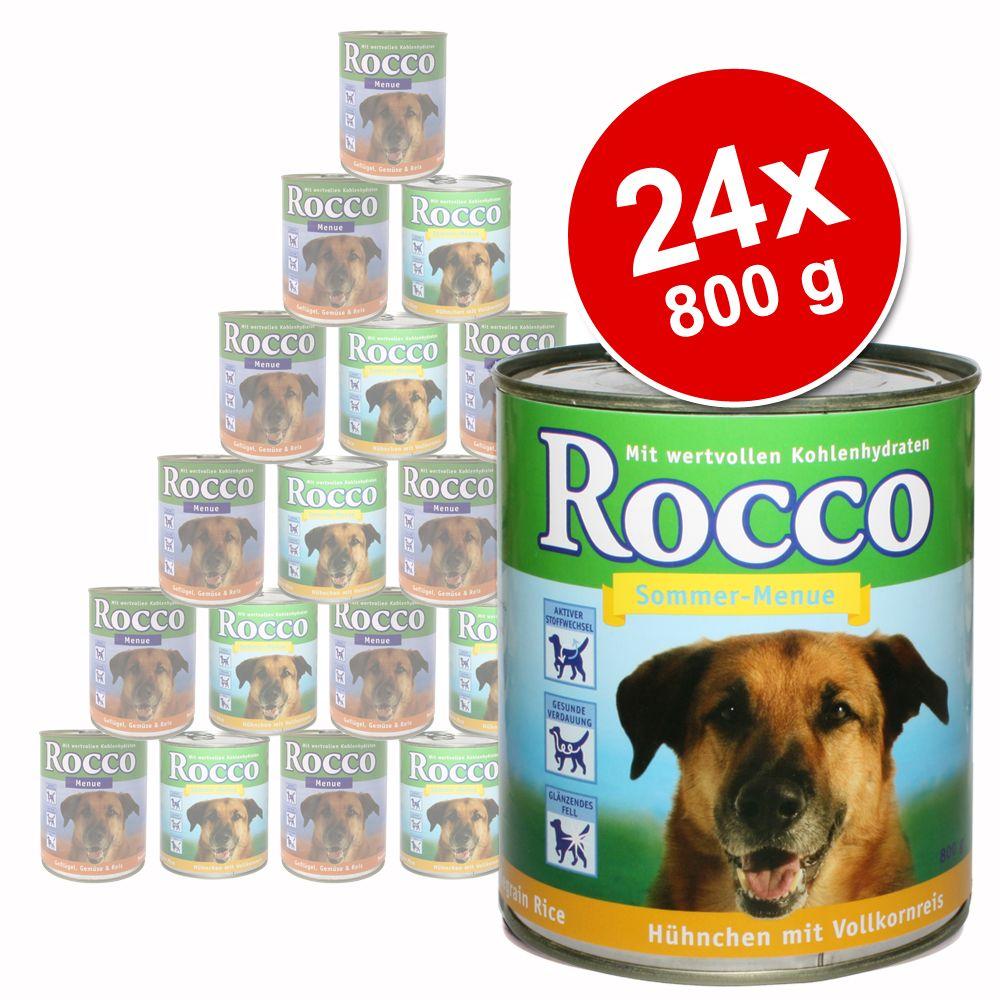 Chien Boîtes et sachets ★ Rocco Menu