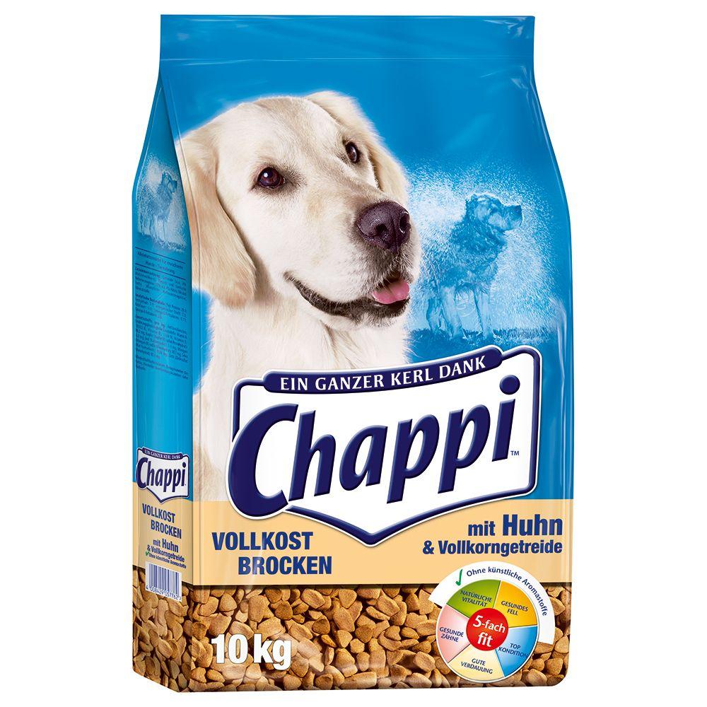 Image of Chappi Vollkost Brocken con Pollo e Cereali integrali - Set %: 2 x 10 kg