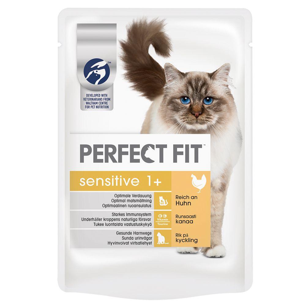 Perfect Fit Sensitive, z kurczakiem w sosie - 12 x 85 g