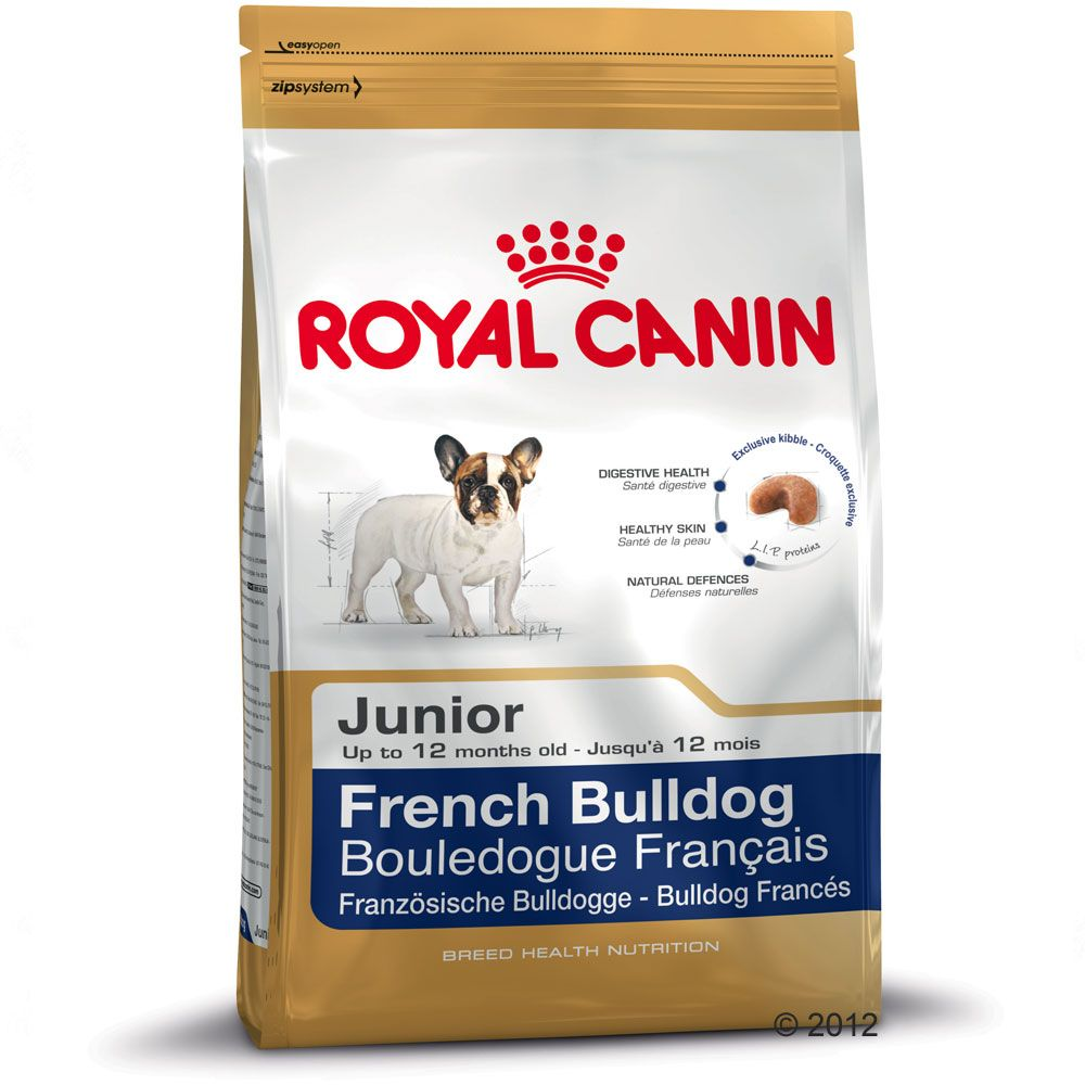 Chien Croquettes Royal Canin Breed Bulldog