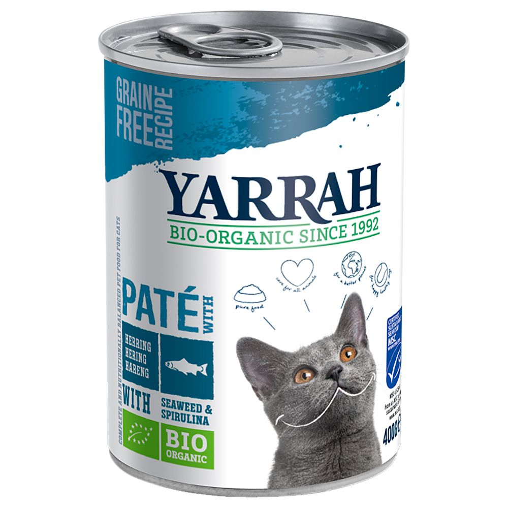 Herring Yarrah Organic Wet Cat Food