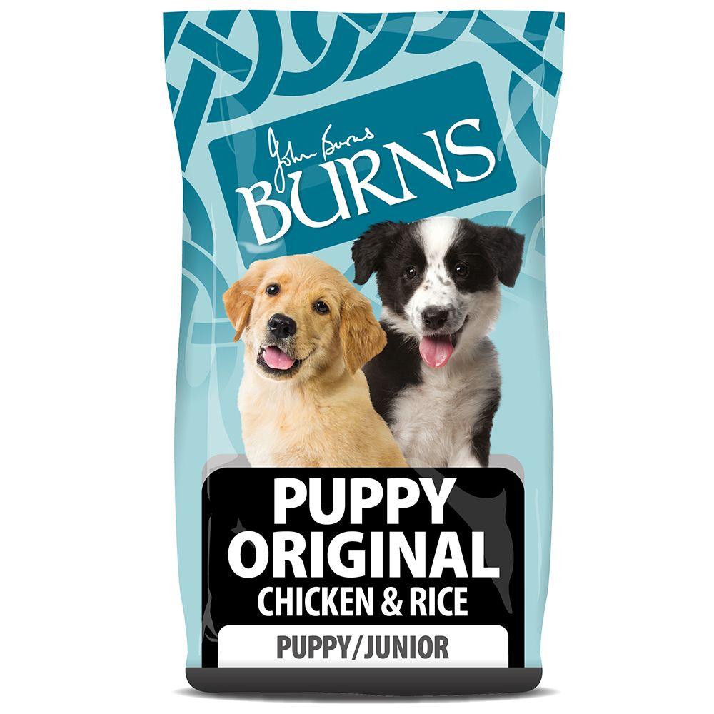 Burns Puppy Original - Chicken & Rice - Economy Pack: 2 x 12kg