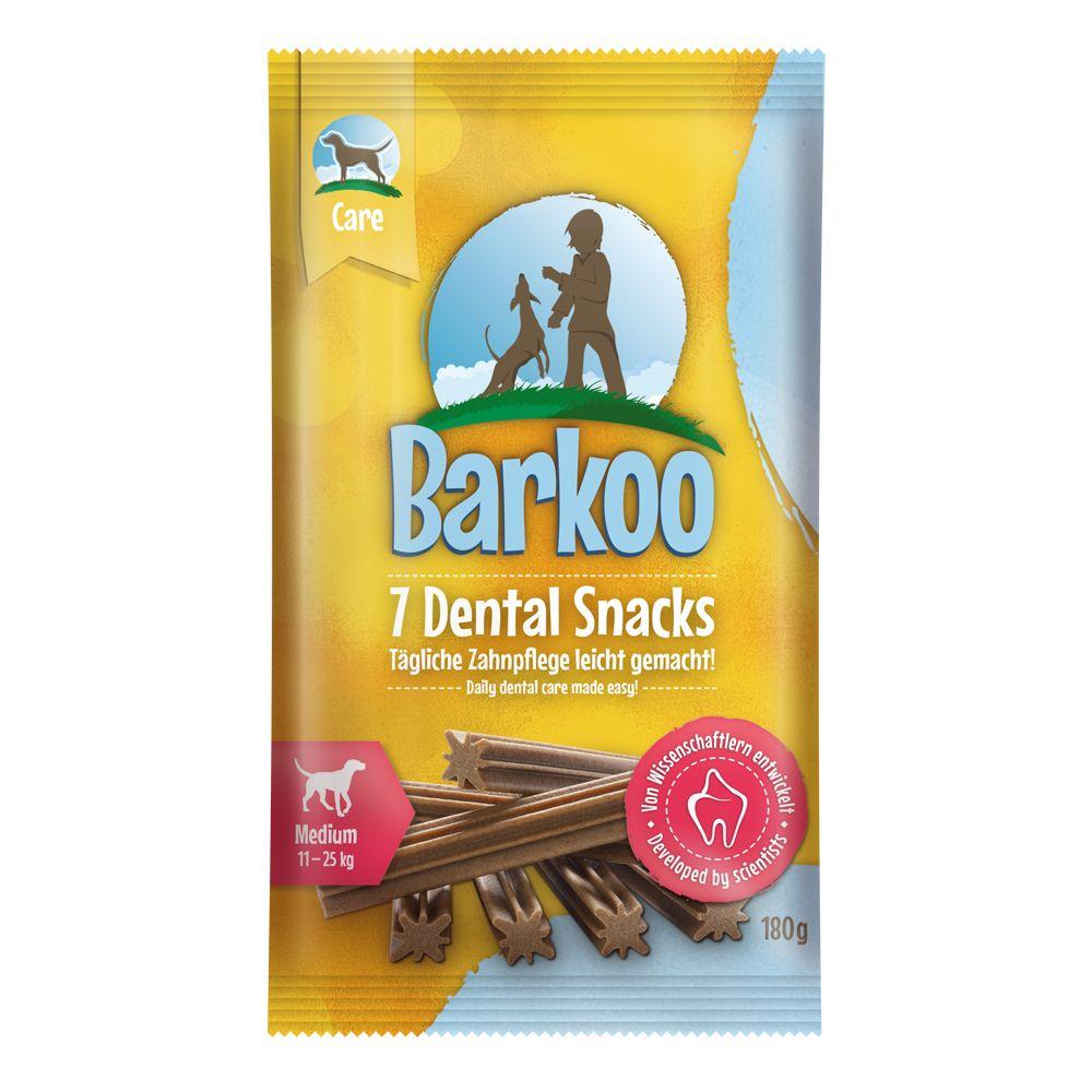 7x Dental Snacks Petit chien Barkoo - Friandises pour chien