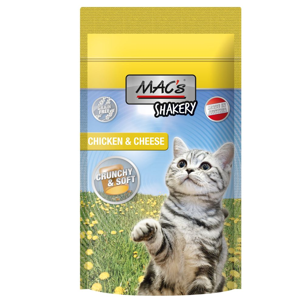MAC's Shakery Snacks Chicken & Cheese 60 g