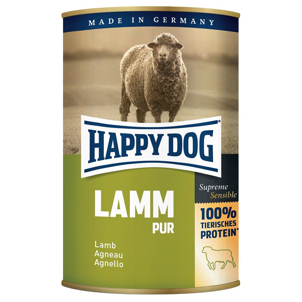 Happy Dog Pur 1 x 400 g - Lachs Pur
