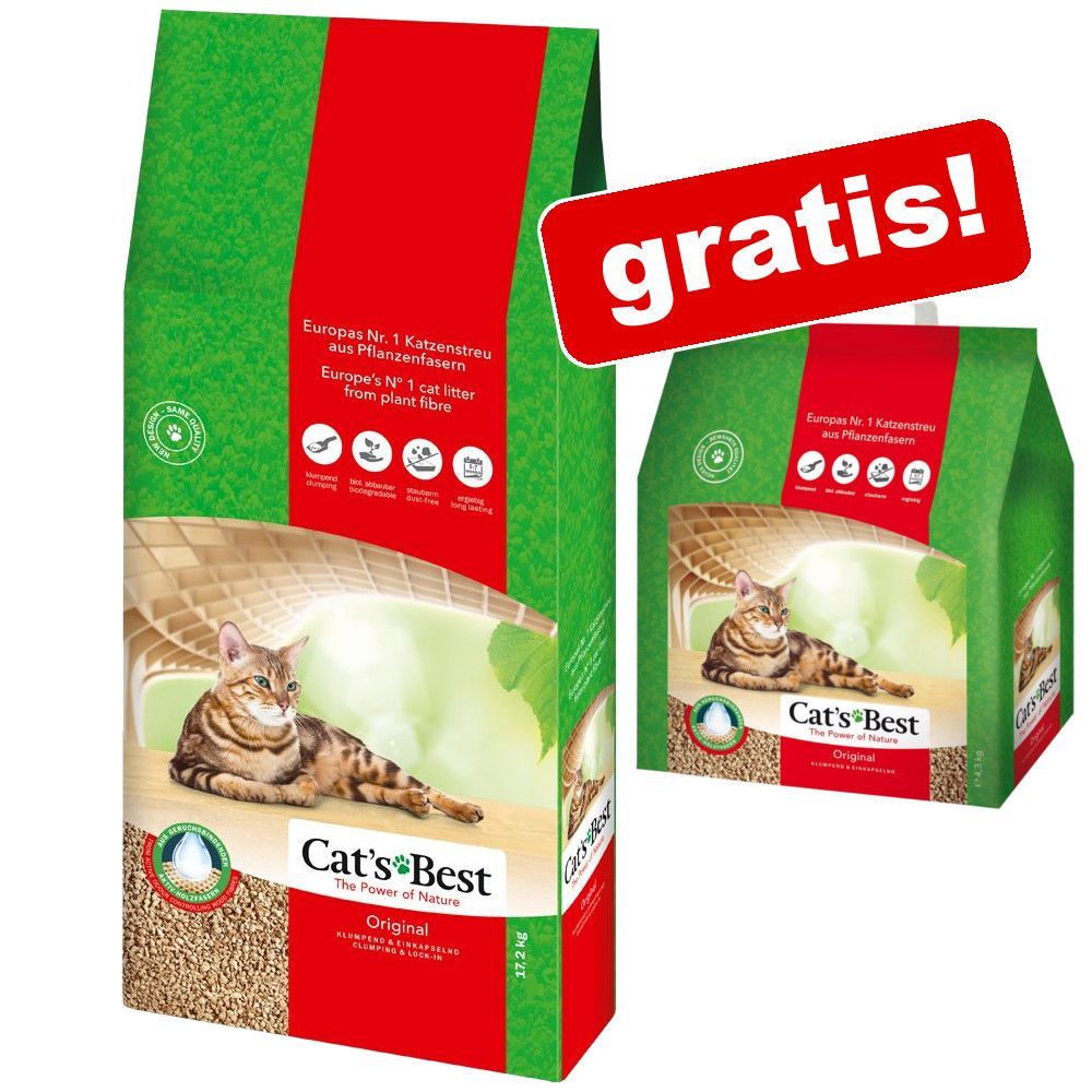 40 l + 5 l gratis! 45 l Cat´s Best Öko Plus Kat...