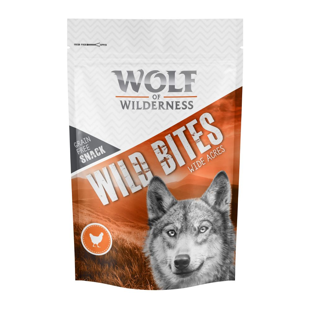 Wide Acres Chicken Wolf of Wilderness Dog Snacks