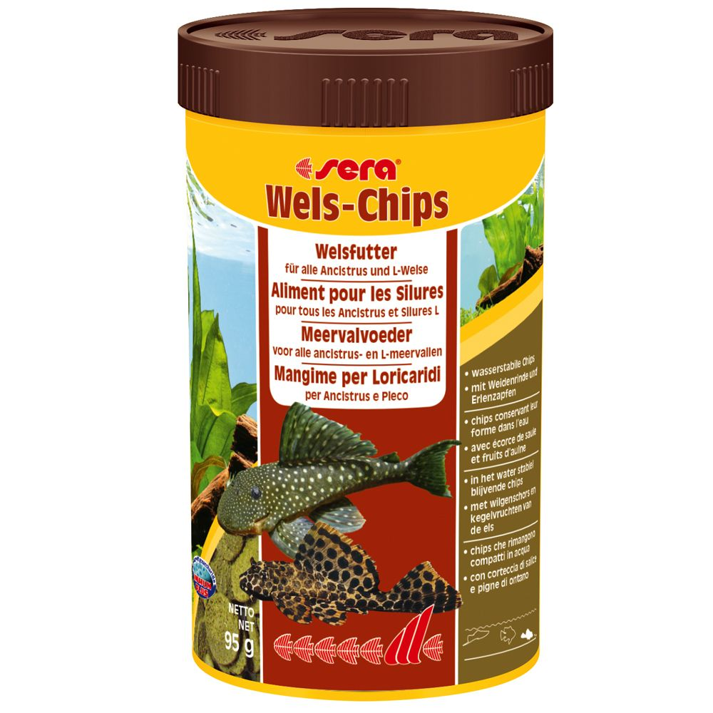 Sera Wels-Chips Pokarm w tabletkach - 250 ml