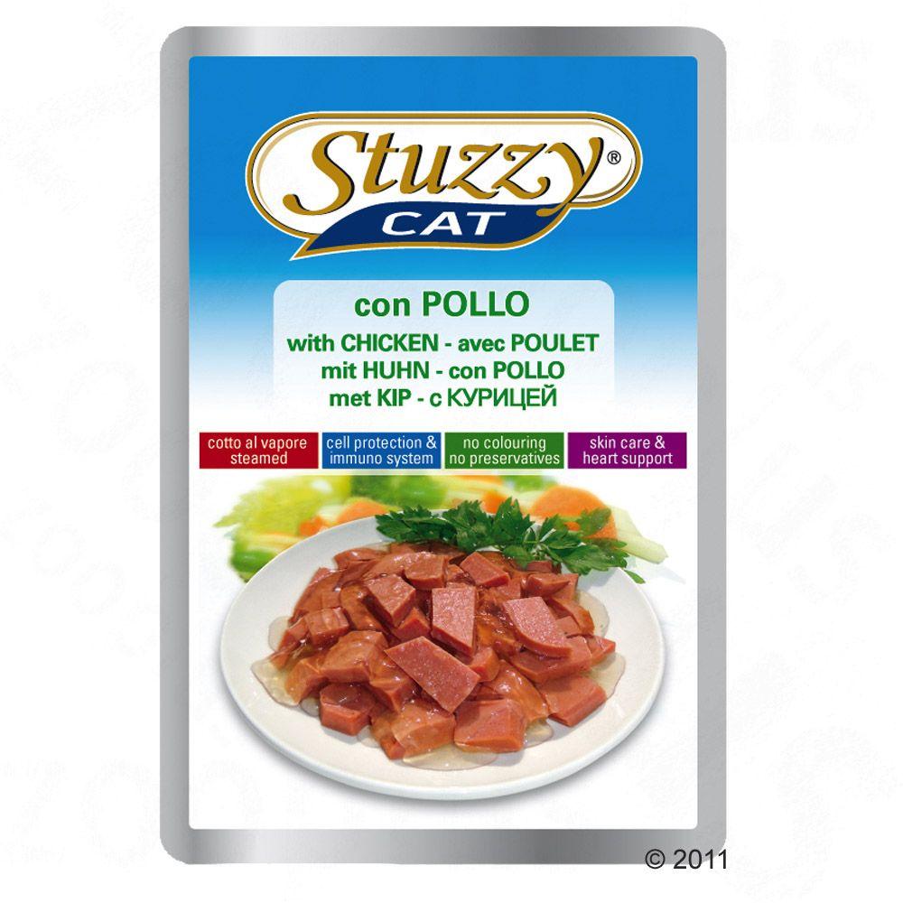 Stuzzy Cat i portionspåse 24 x 100 g - Skinka