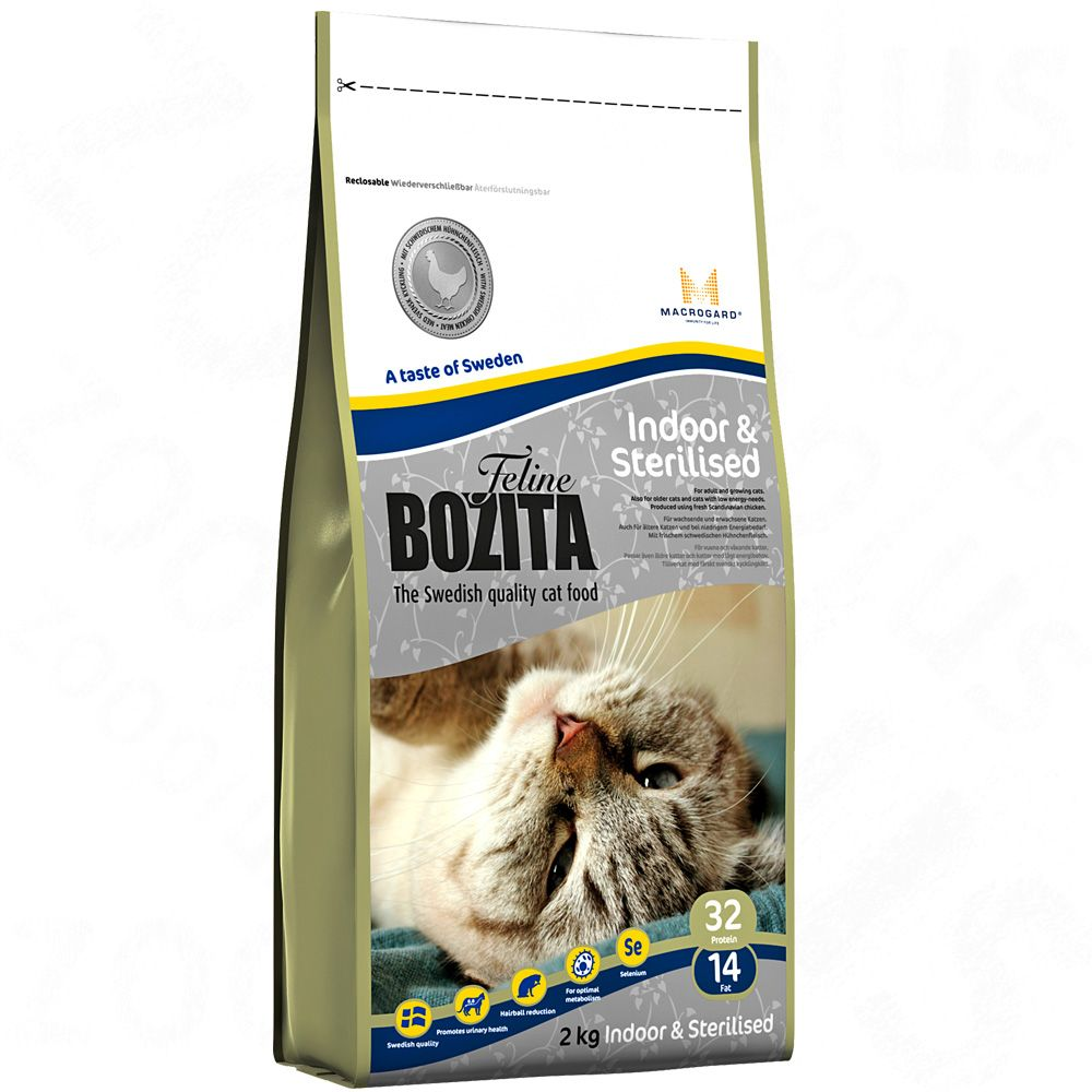 10kg Bozita Feline Dry Cat Food