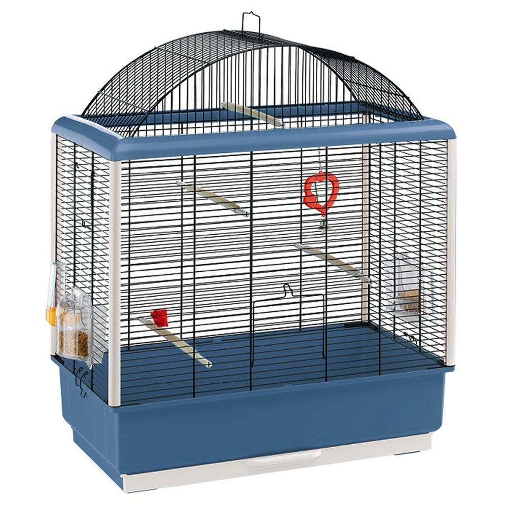 Cage pour oiseaux Palladio 04 - L 59,5 x l 33 x H 70,5 cm