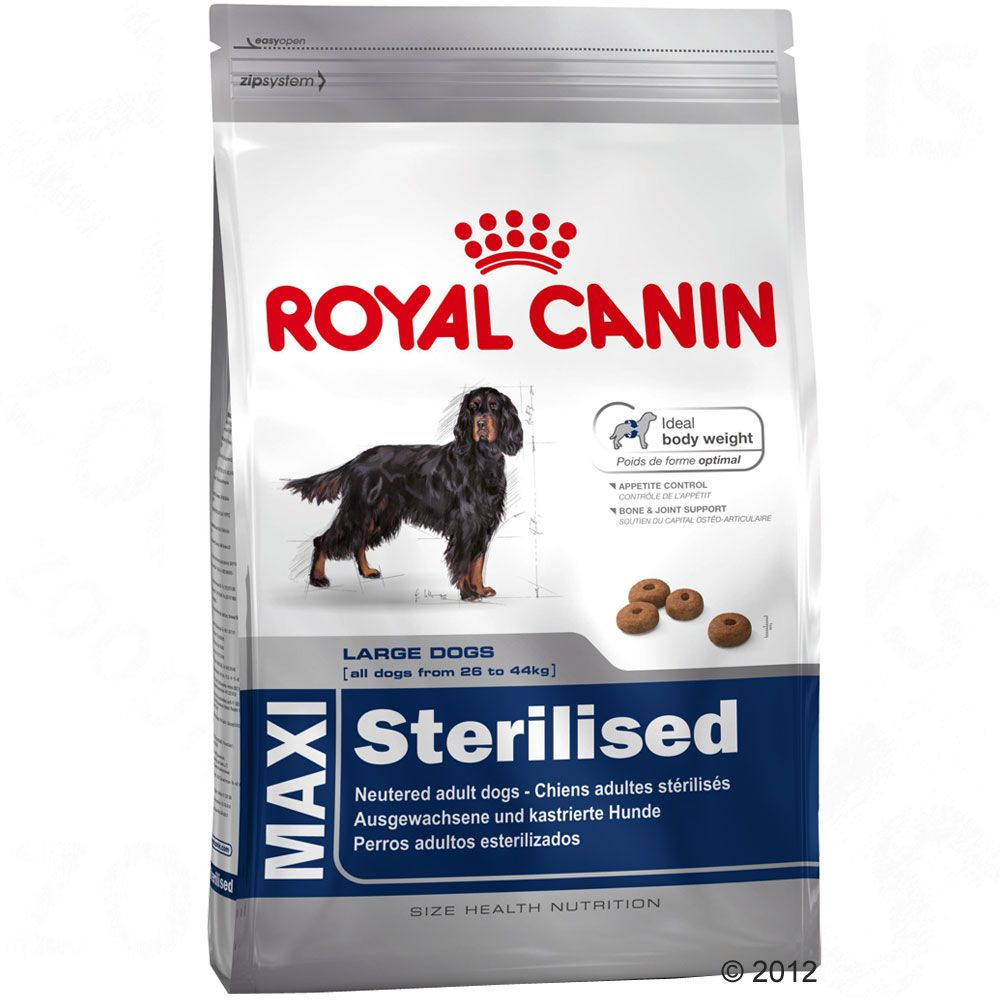 Royal Canin Maxi Adult Sterilised pour chien - 12 kg