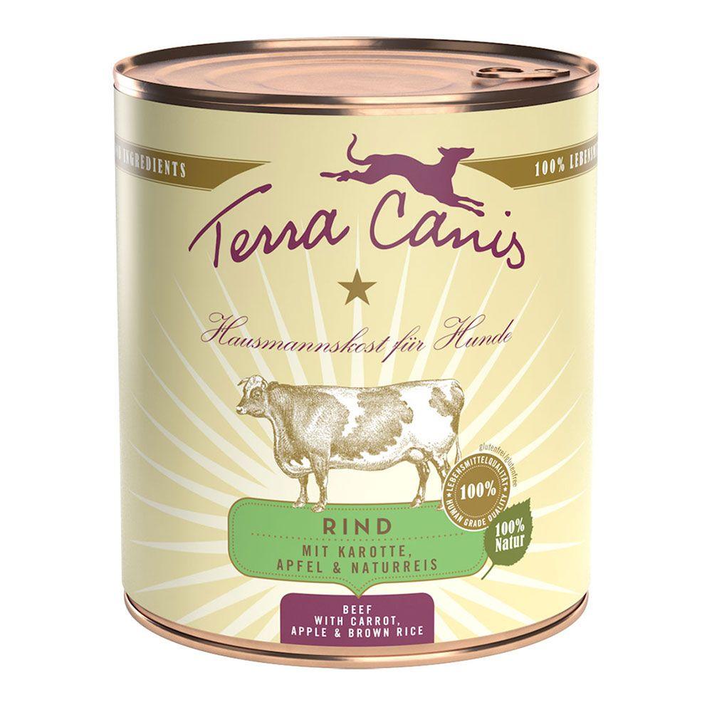 Terra Canis 6 x 800 g - NEU: Pute mit Naturreis und frischem Löwenzahn