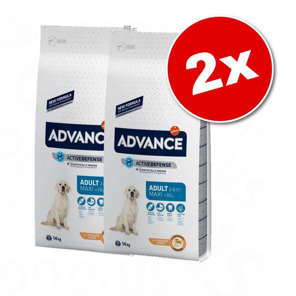 2x14kg Maxi Adult Affinity Advance Maxi - Croquettes pour chien