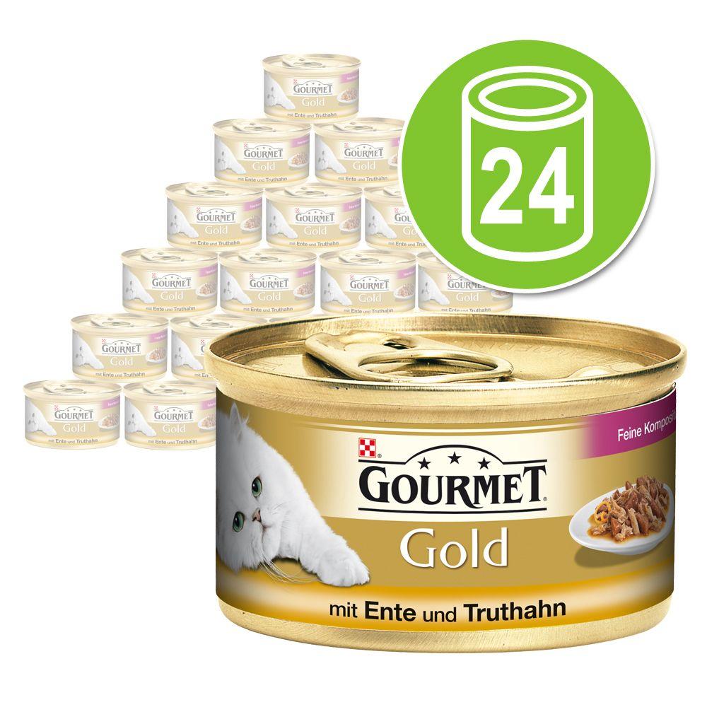Chat Boîtes et sachets Gourmet Gold Gourmet Gold Les Double Délices