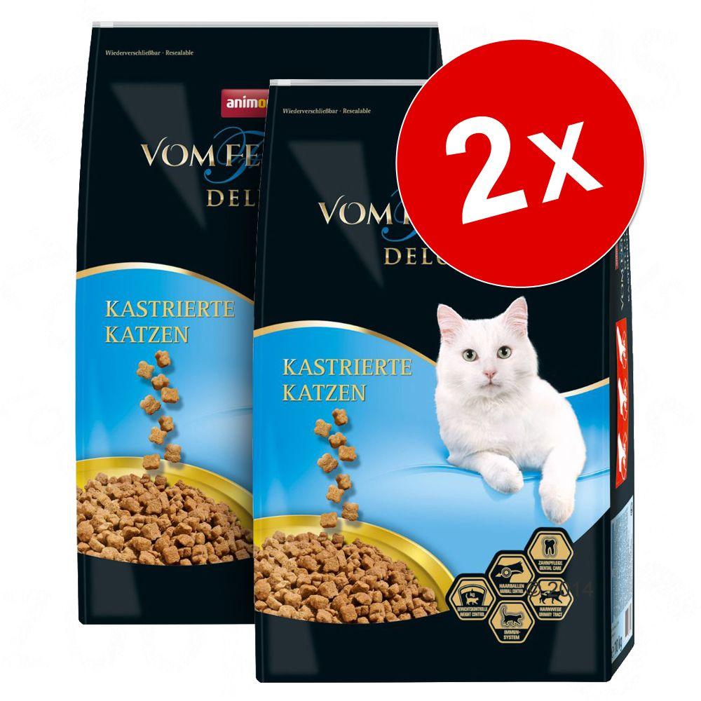 2x10kg Chat castré Animonda vom Feinsten Deluxe pour chat - Croquettes pour chat