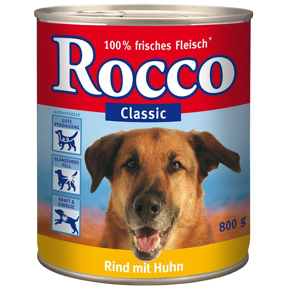 Rocco Classic, 6 x 800 g - Czysta wołowina
