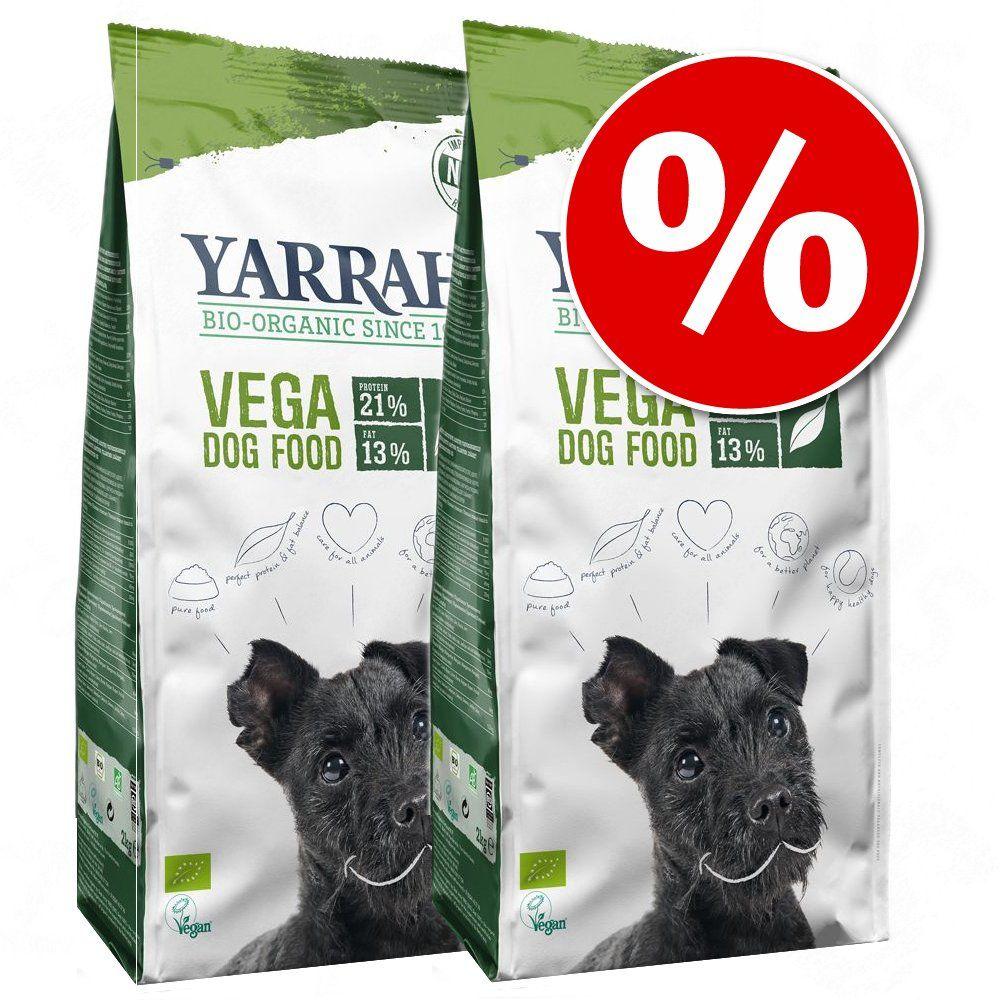 Ekonomipack: Yarrah Organic hundfoder till lågpris! - Spannmålsfritt (2 x 10 kg)