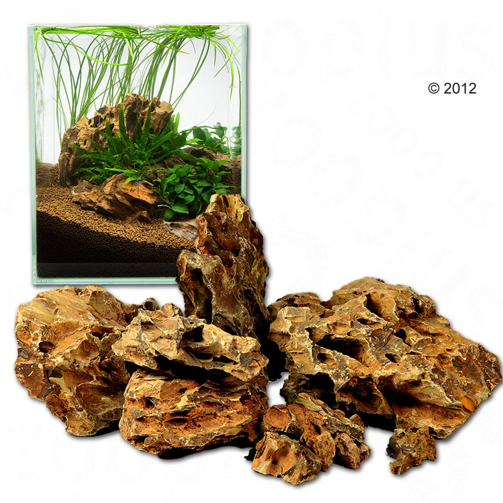Pierres dragon pour aquarium Ohko Rock - kit 80 cm : 11 pierres naturelles, 7 kg environ