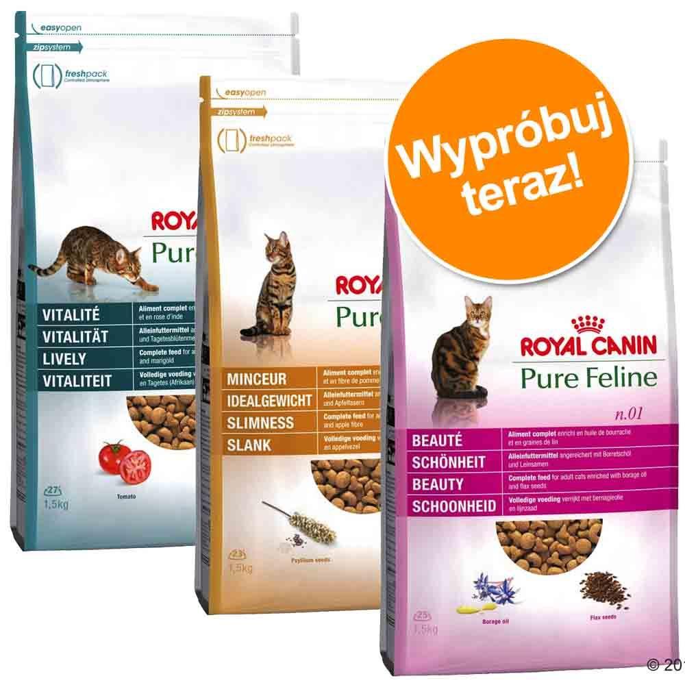 Royal Canin Pure Feline w pakiecie próbnym - 3 x 3 kg