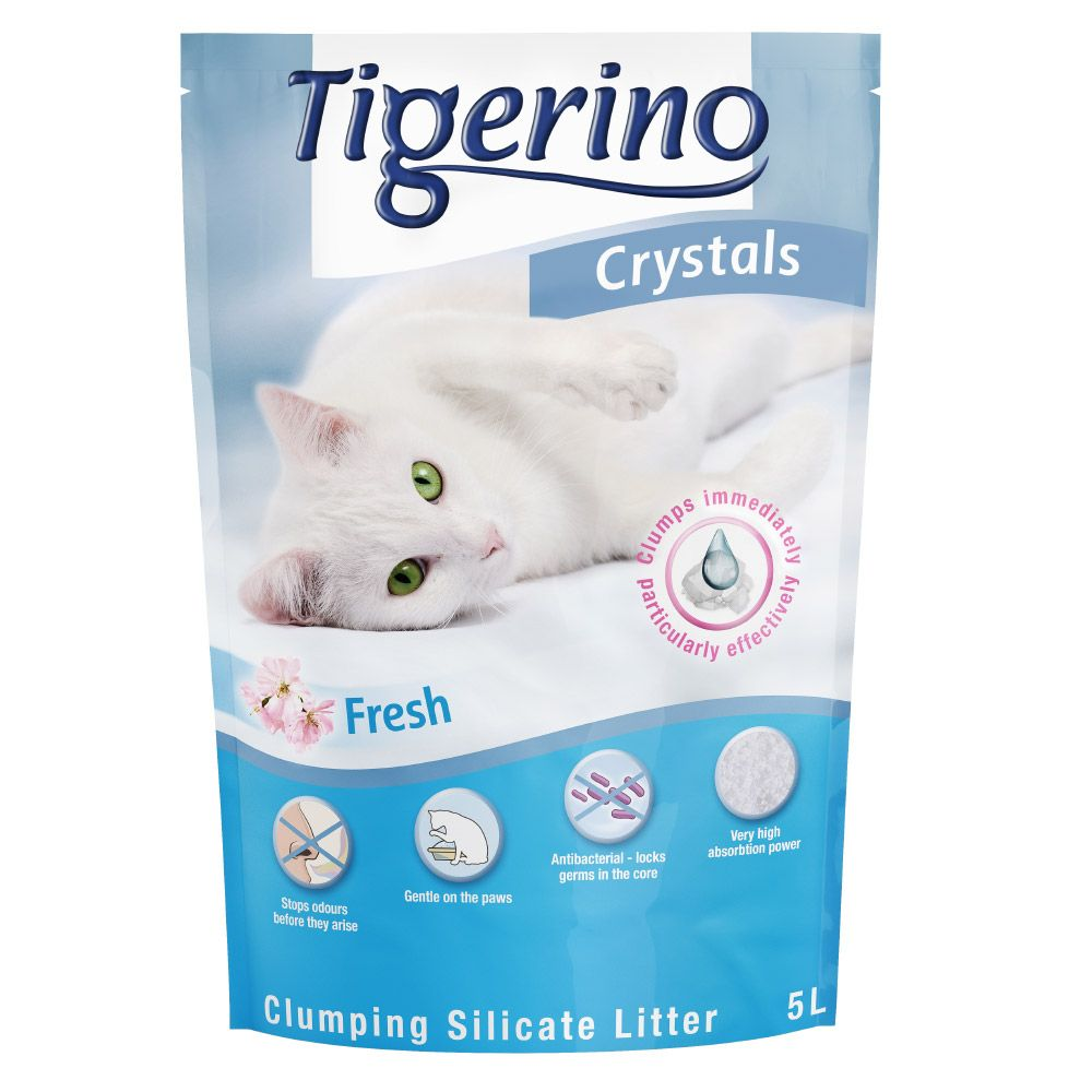 Crystals Fresh Tigerino Clumping Cat Litter