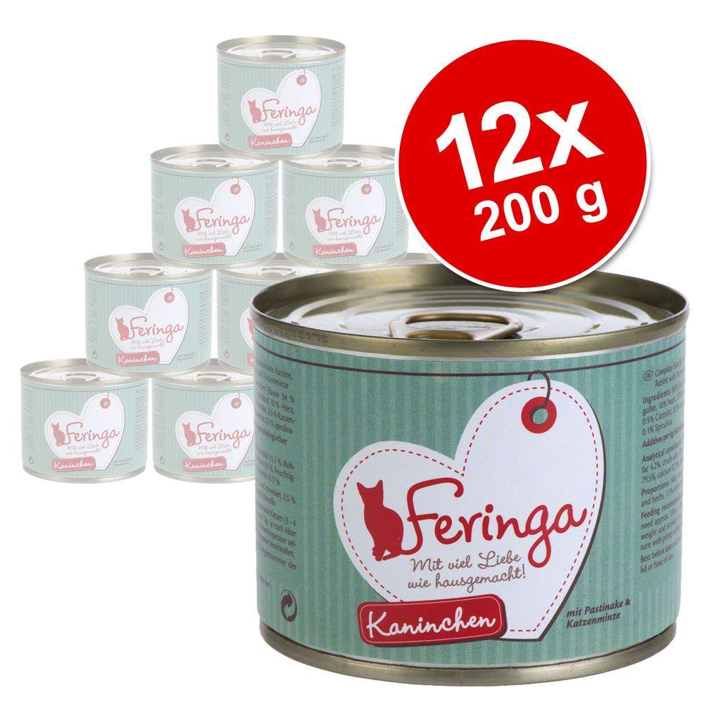 Korzystny pakiet Feringa Pure Meat Menu, 12 x 200 g - Pakiet mieszany