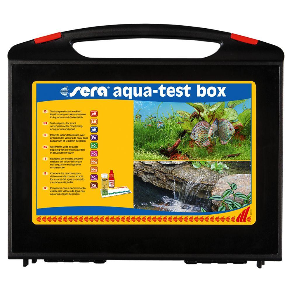 aqua-test Wassertest-Set-Box für Aquarien