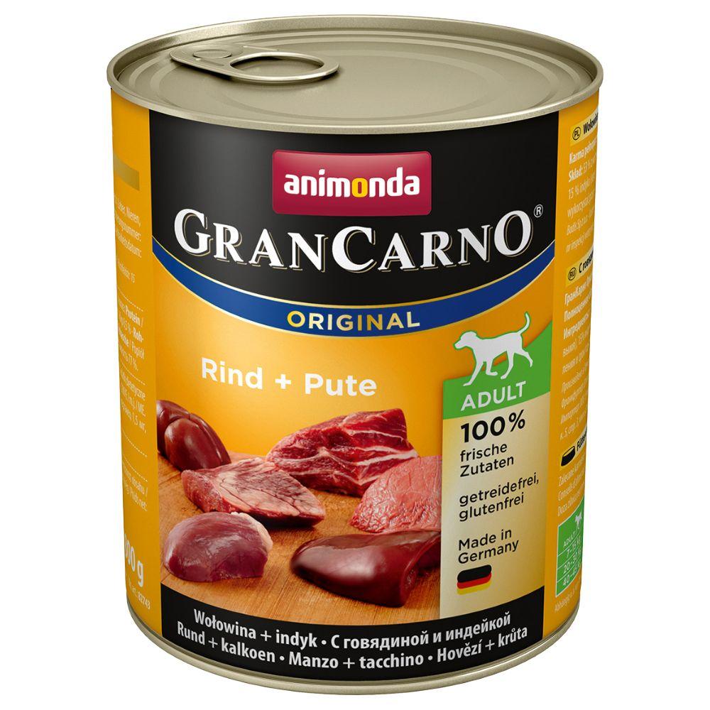 Animonda GranCarno Original Adult 6 x 800 g - Köttcocktail